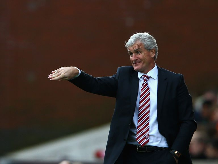 Mark Hughes: Stoke have scored just four times this season