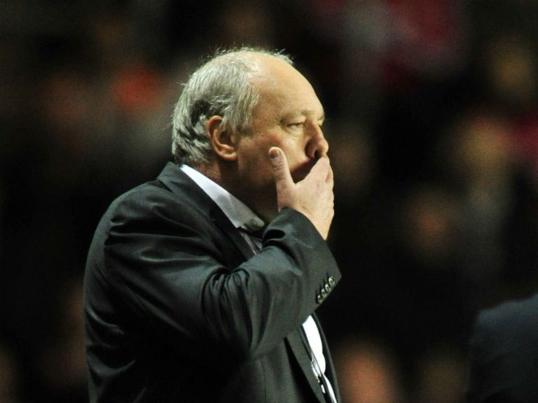 Martin Jol: Not happy with the goal Fulham conceded