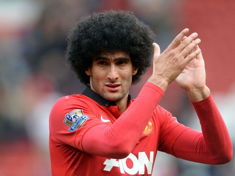 Marouane Fellaini: Will play despite a wrist problem