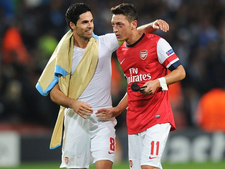 Mesut Ozil: Feeling the love at Arsenal