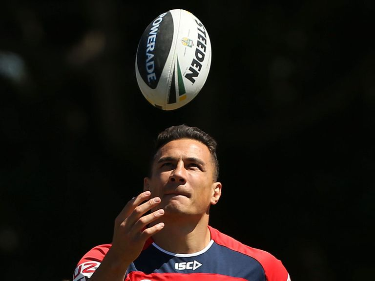 Sonny Bill Williams: Will remain with the Roosters