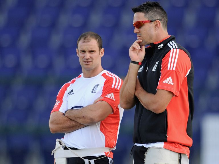 Andrew Strauss and Kevin Pietersen fell out last summer