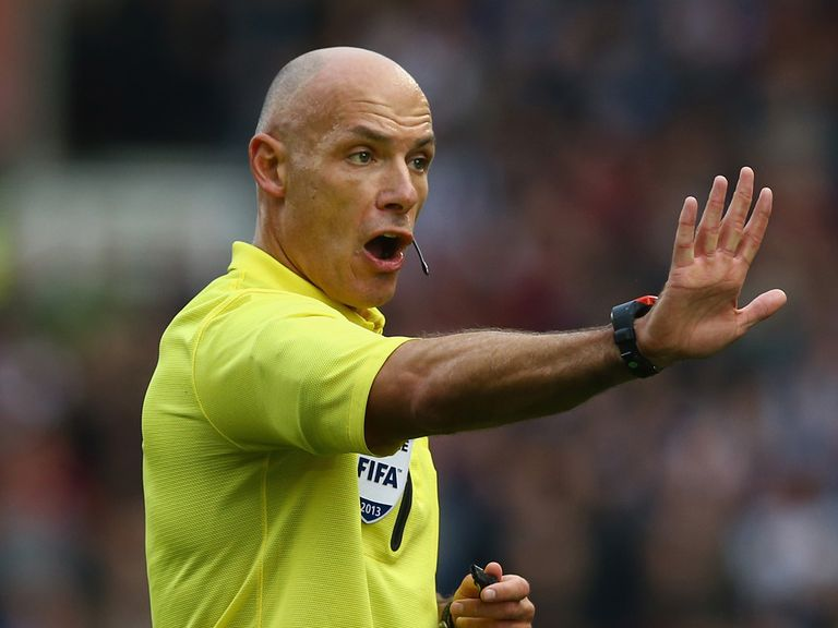 Howard Webb: Selected to officiate in Brazil