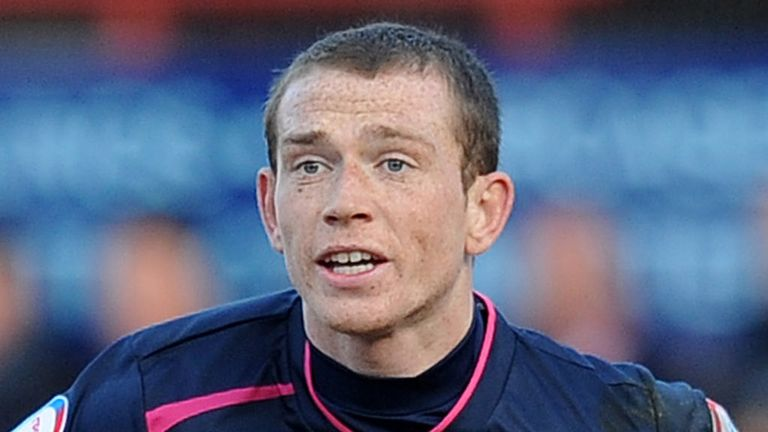 Joe Garner: Must serve a three-match ban