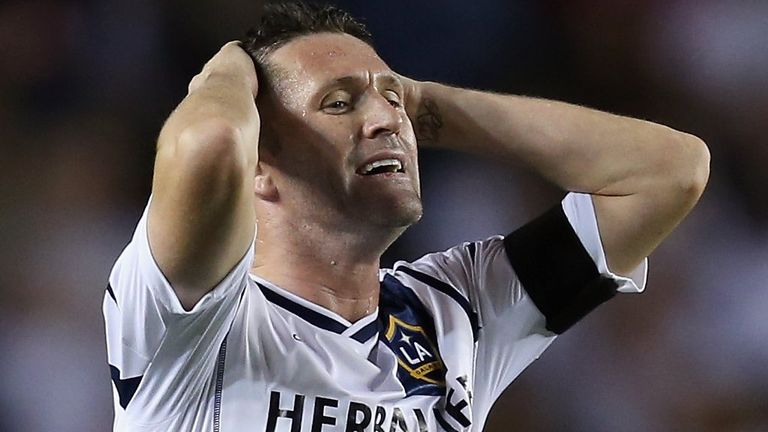 Robbie Keane: The striker won't be going back to the Premier League on loan