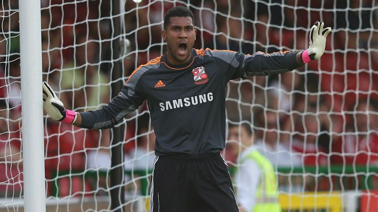 Wes Foderingham: Hoping to keep Swindon in the promotion picture