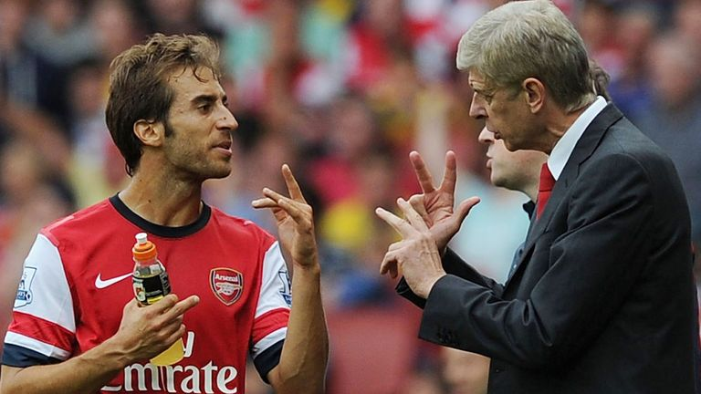 Mathieu Flamini: Hailed Arsene Wenger, who celebrates his 1,000th game in charge of Arsenal on Saturday