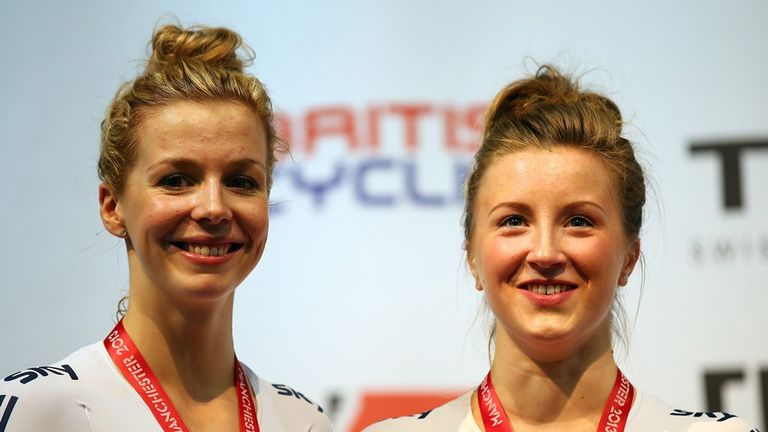 Becky James, left, and Victoria Williamson are two of the brightest female prospects for Rio