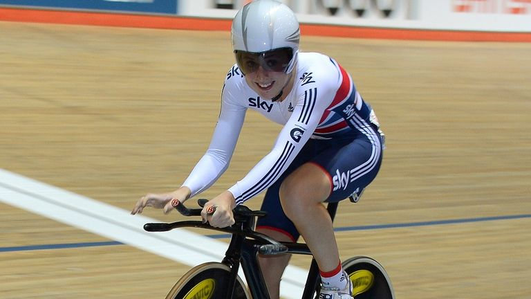 Laura Trott won the last two events to seal omnium victory