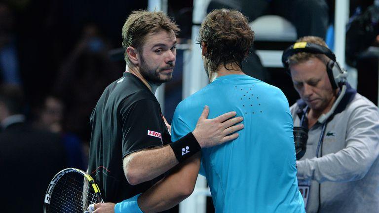 Wawrinka (L) lost to Nadal in two tiebreaks
