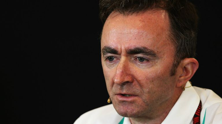 Paddy Lowe: Enjoying work at Mercedes