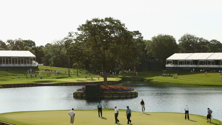 Players Championship: Iconic 17th hole at TPC Sawgrass