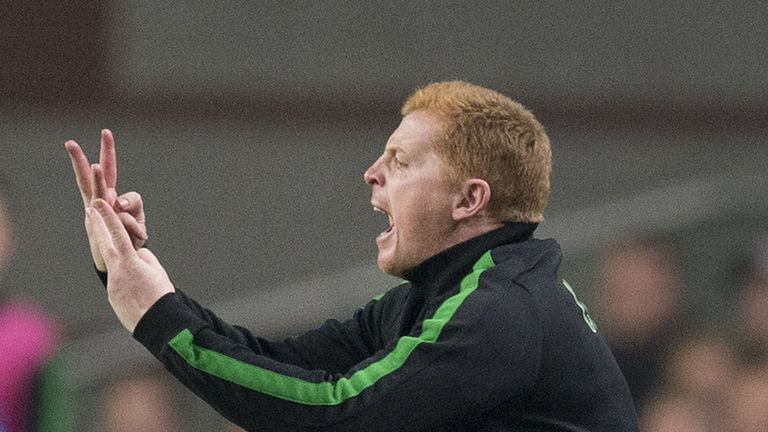 Neil Lennon: Saw his side lose against Ajax