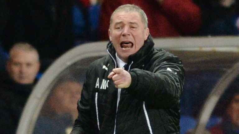 Ally McCoist: No place for flares at football matches