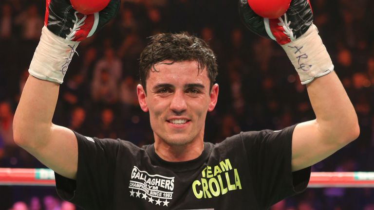 Anthony Crolla: Wants shot at Ricky Burns' world title