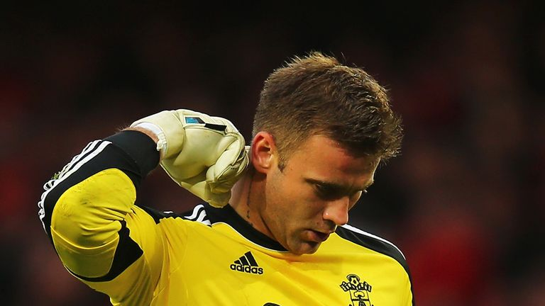 Artur Boruc: Southampton keeper broke his hand against Chelsea