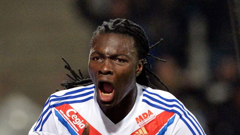 Bafetimbi Gomis: Scored the winner for Lyon