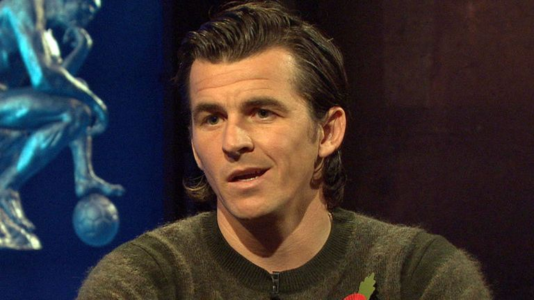 Joey Barton talked about his highs and lows on the Footballers' Football Show