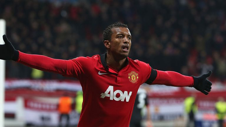 Nani: Manchester United winger has been linked with Juventus