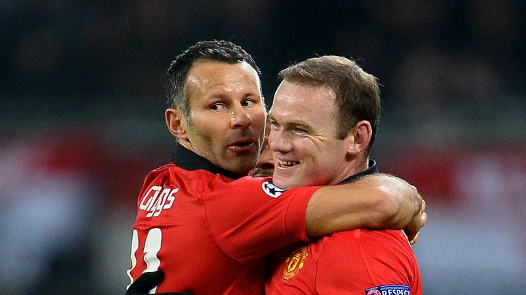Wayne Rooney and Ryan Giggs: Manchester United duo were superb against Bayer Leverkusen