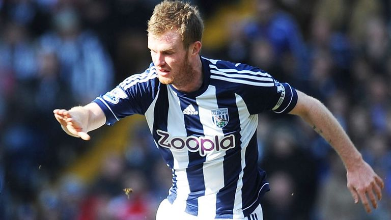 Chris Brunt: Hopes to see boss Steve Clarke sign a new deal at West Brom soon