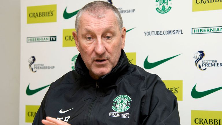 Terry Butcher: Will be in the dugout at St Mirren Park