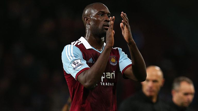 Carlton Cole: Has re-joined West Ham on a short-term contract