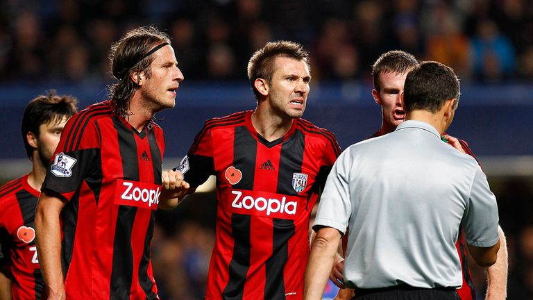 Jonas Olsson: Was upset by the award of a late penalty at Stamford Bridge