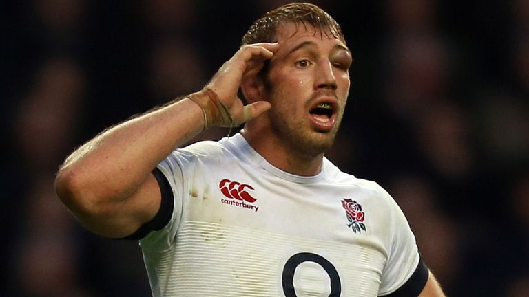 Chris Robshaw: Re-appointed England captain