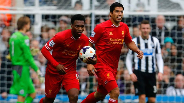 Daniel Sturridge and Luis Suarez: Liverpool duo praised by Simon Mignolet