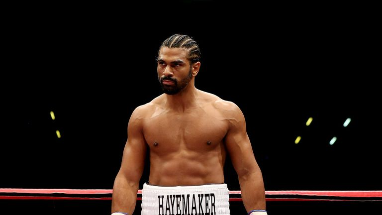 Haye: will the former champion struggle to leave the sport?