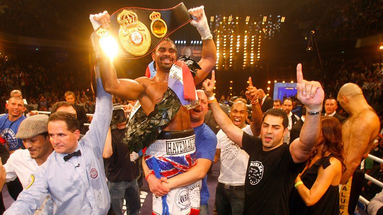 David Haye has revealed he may be forced to retire from boxing due to injury