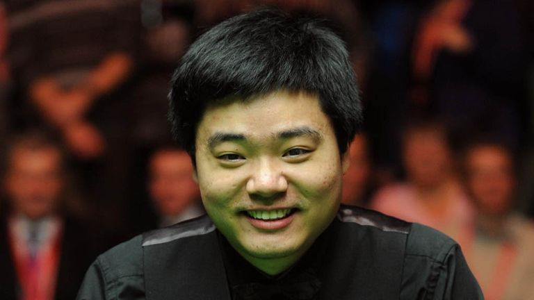 Ding Junhui: Bagged a third ranking title in six weeks