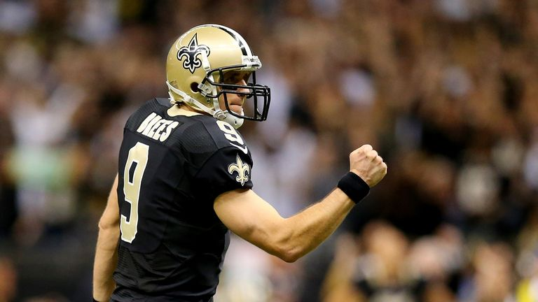 Drew Brees: guided Saints to victory