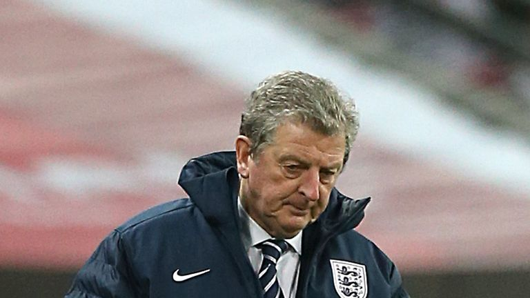 Roy Hodgson: First Wembley defeat for England boss