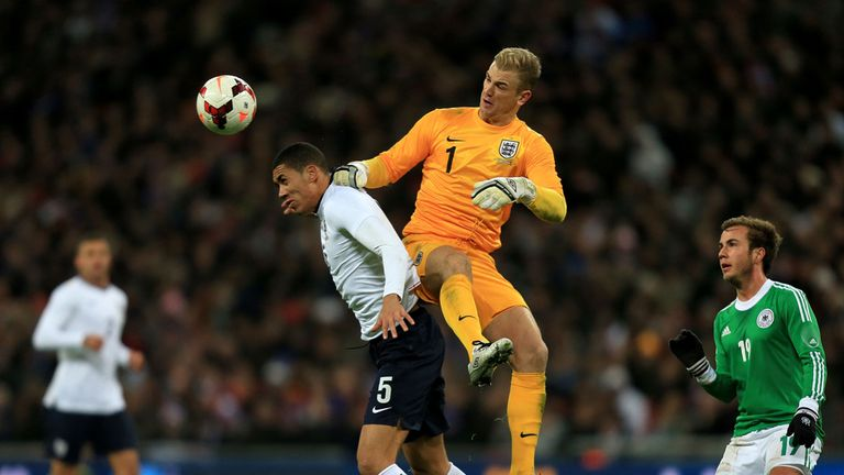 Chris Smalling: Played in central defence against Germany