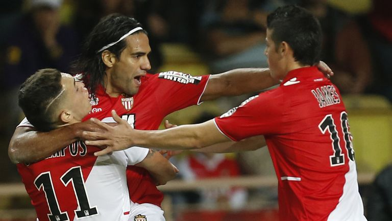 Radamel Falcao: Suffered a knee injury in the Coupe de France