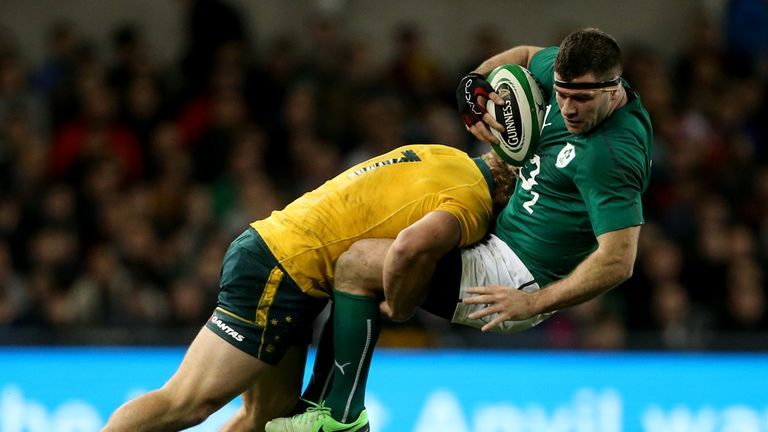Fergus McFadden: Ruled out of Sunday's Test against New Zealand