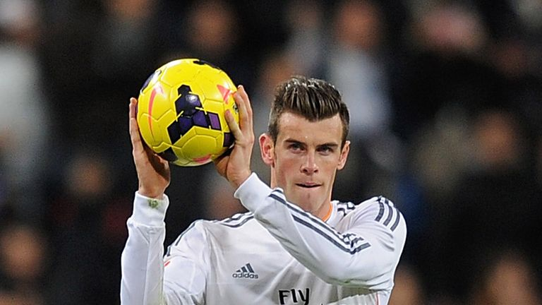 Gareth Bale: Scored the perfect hat-trick in Saturday's 4-0 success