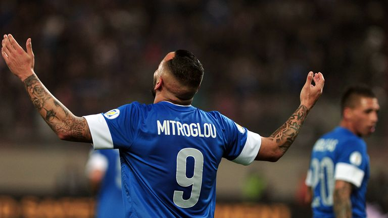 Kostas Mitroglou: Four hat-tricks this season