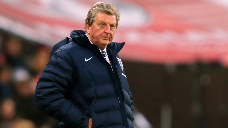 Roy Hodgson: Happy with squad