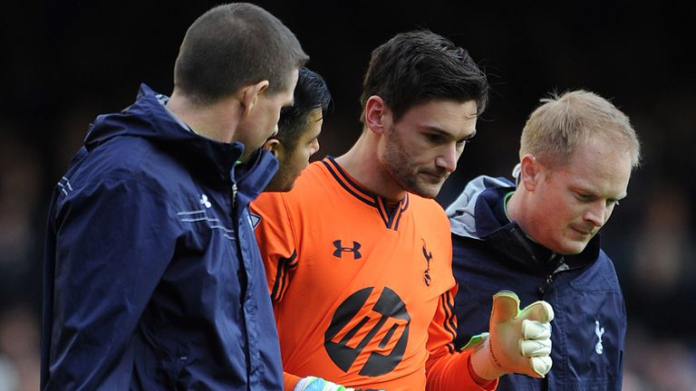Hugo Lloris: Tottenham keeper feeling good after being knocked unconscious