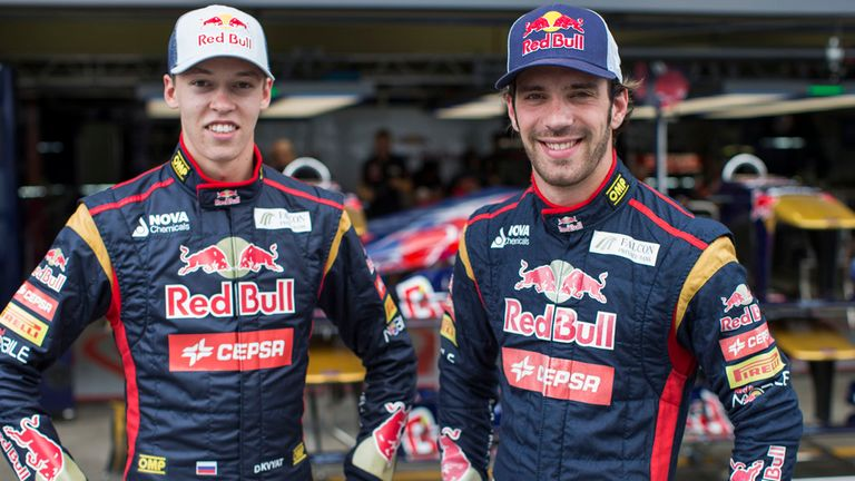 Danill Kvyat and Jean-Eric Vergne will be behind the wheel at Sakhir