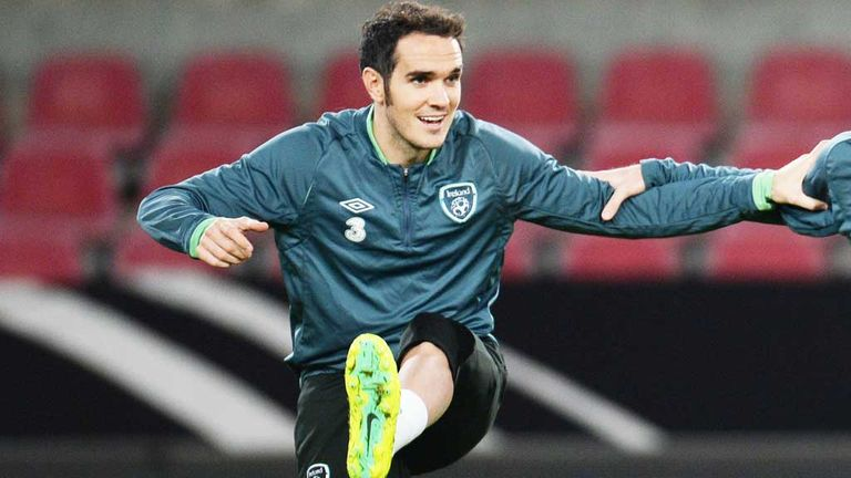 Joey O'Brien: Released from Republic of Ireland squad