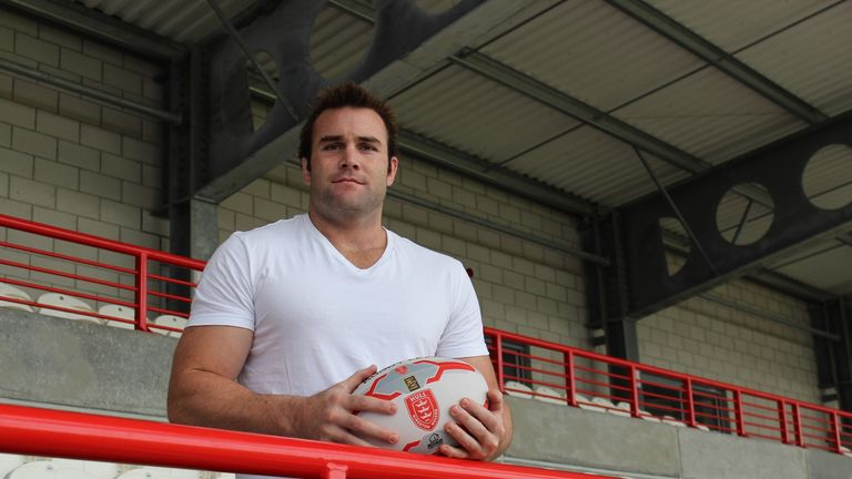 Justin Poore: Has joined Hull KR on a two-year contract