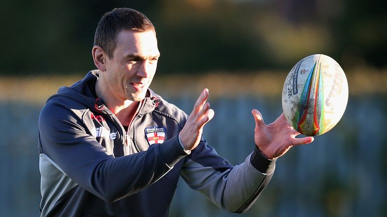 Kevin Sinfield: Could lead England in the 2014 Four Nations Series