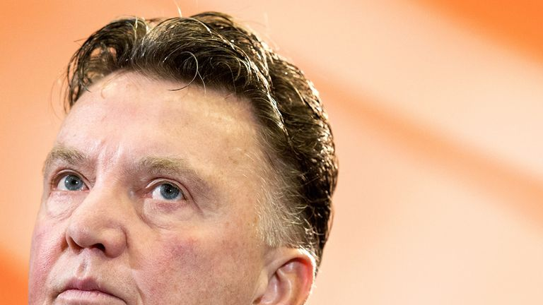 Louis van Gaal: Proud of his Holland team