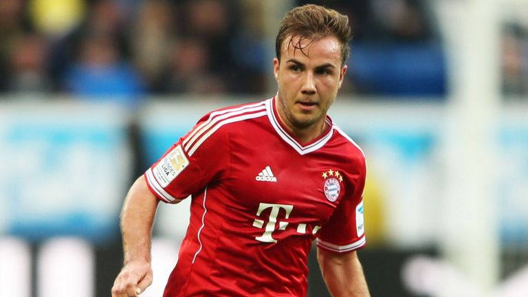 Mario Gotze: Aiming for a regular starting berth at Bayern