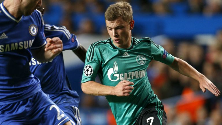 Max Meyer: Has been in sparkling form for Schalke