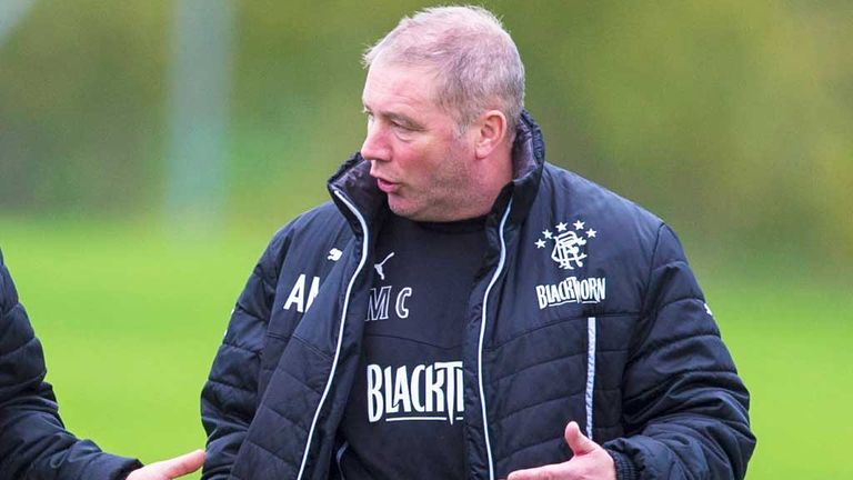 Ally McCoist: Rangers boss is happy at appointment of David Somers